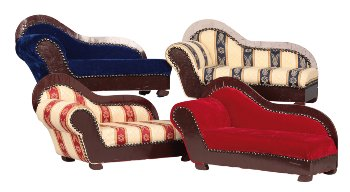 Sofa Chaiselongue b=50cm sort.