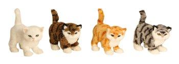 Cat standing h=13,5 cm l=13 cm assort.