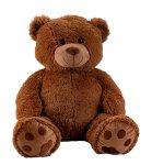 Bear dark brown h=100cm (sitting: 64cm)