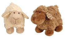 Schaf stehend m.karierten Ohren h=20cm