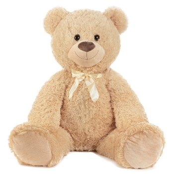 Bear sitting h=100cm (sitting size:58cm)