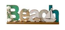"""Maritim lettering """"Beach"""" for standing"""