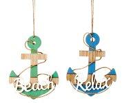 "Maritim plate in keeper-shape ""Beach"""