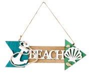 "Maritim plate ""Beach"" for hanging"