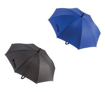 Regenschirm d=100cm blau & schwarz sort.