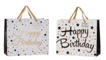 "present bag ""happy birthday"" 31x26x12cm"