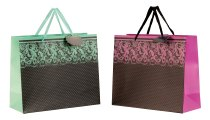 "present bag ""modern with glitter"""