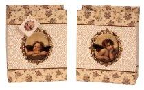 Geschenktüte 'Raphael-Engel' 18x10x23cm