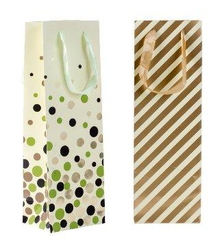Flaschentüte goldenes edles Design