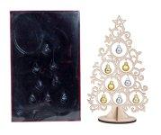 Weihnachtsbaum aus Holz h=30,5cm,