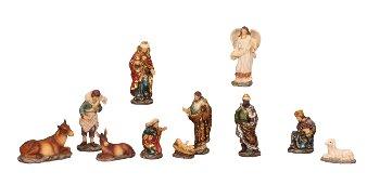Nativity scene , set price for 11 pieces