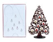 Weihnachtsbaum aus Holz h=38,2cm,