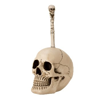 Klobürste Totenkopf h=31,5cm b=17cm