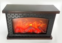 Table Fireplace LED operated h=20cm