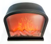 Standing Fireplace LED operated h=28cm