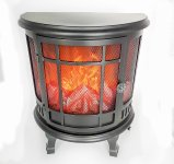 Standing Fireplace LED operated h=35cm