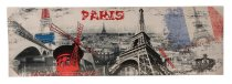 Bilddrucke 'Paris-Design' 140cmx45cmx3cm