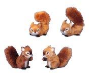 Eichhörnchen h=8-10cm sort.