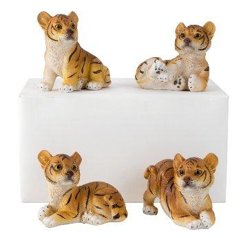 Tigerbaby braun h=7-9cm b=9cm sort.