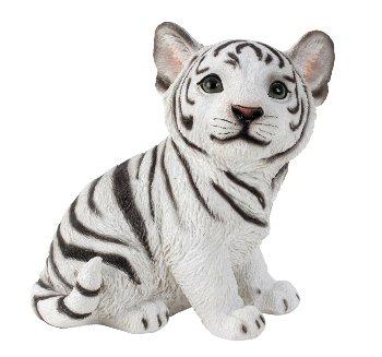 Tiger weiß h=19cm b=18cm