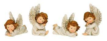 Angel sitting & lying h=5,5-7,5 cm l=7,5