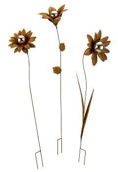 Gartenblumenstecker h=78-82cm b=22-25cm