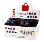 Shopping bag foldable 45x39cm in display