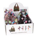 Shopping bag foldable packed in mini bag