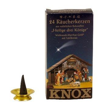 "KNOX Räucherkerzen ""Heilige 3 Könige"""
