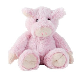 Plüsch-Schwein sitzend h=15cm