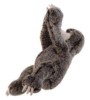 Faultier mit Klettband an Händen h=60cm