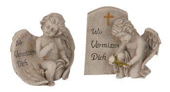 Engel 'Wir vermissen dich' h=10,5cm