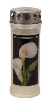 Memorial-candle with