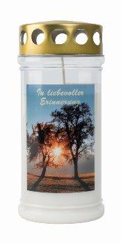 Memorial-candle 'In liebevoller