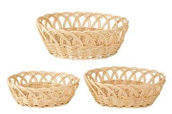 Willow-Basket oval h=9,5-13cm b=29-39cm