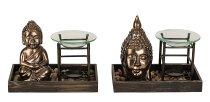 Buddha-Set Verdunster h=14,5+16cm