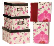Box with orchid design, Price for 5 pcs