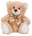 Bär beige sitzend h=27cm
