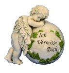 Engel an Kugel 'Ich vermisse Dich'