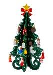 Weihnachtsbaum grün aus Holz h=19cm