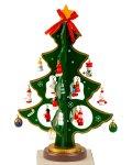 Weihnachtsbäume aus Holz nur grün h=25cm