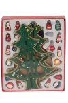 Weihnachtsb.Spieluhr nur grün h=28cm