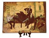 Platzdeckchen aus Holz 38x29cm,als Bild