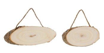 Holztafeln zum Aufhängen b=15-20cm sort.