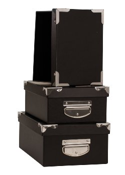 Box with metall handle, price for 3 pcs