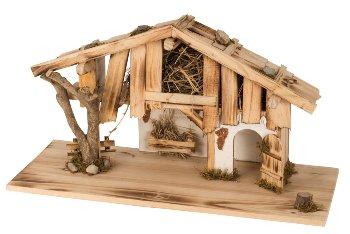 Wooden house h=33cm b=60cm