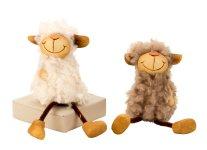 Schaf mit Wuschelfell m. Schlenkerbeinen