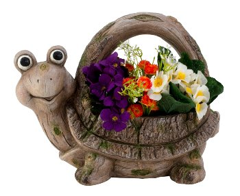 Pflanzgefäß Schildkröte h=30cm b=35cm