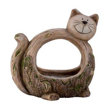Pflanzgefäß Katze h=33cm b=31cm