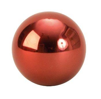 Kugeln rot Edelstahl rostfrei d=4cm